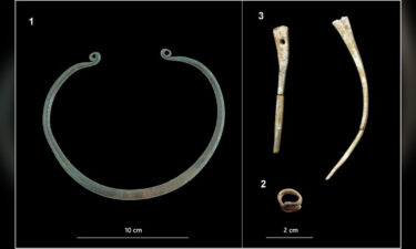 A bronze neck-ring