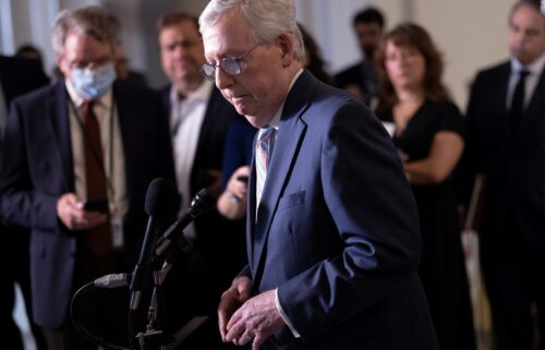 Senate Republican Leader Mitch McConnell is taking his coronavirus vaccine plea directly to his constituents.