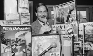 """Infomercial king Ron Popeil died """"suddenly and peacefully"""" July 28 at Cedars Sinai Medical Center in Los Angeles"""