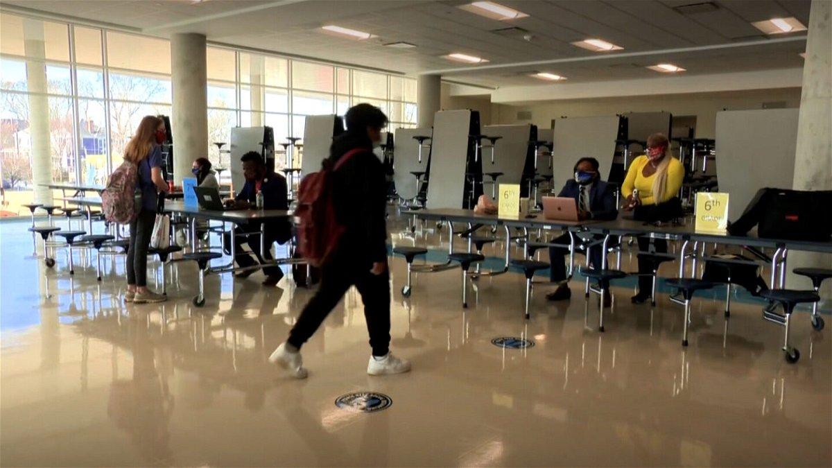 <i>CNN</i><br/>Students are pictured at Atlanta's David Howard Middle School in March. Atlanta Public Schools