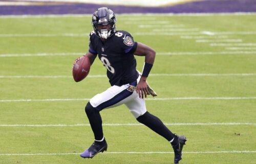 Ravens quarterback Lamar Jackson has tested positive for Covid-19