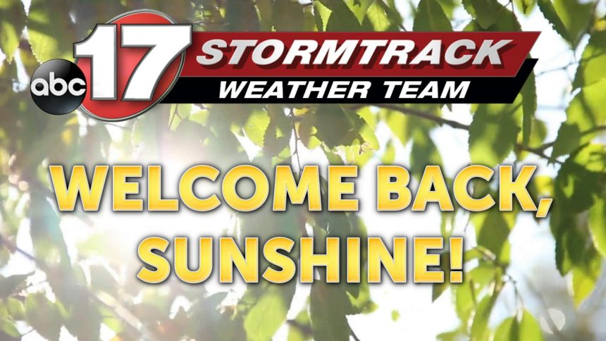 welcome back sunshine