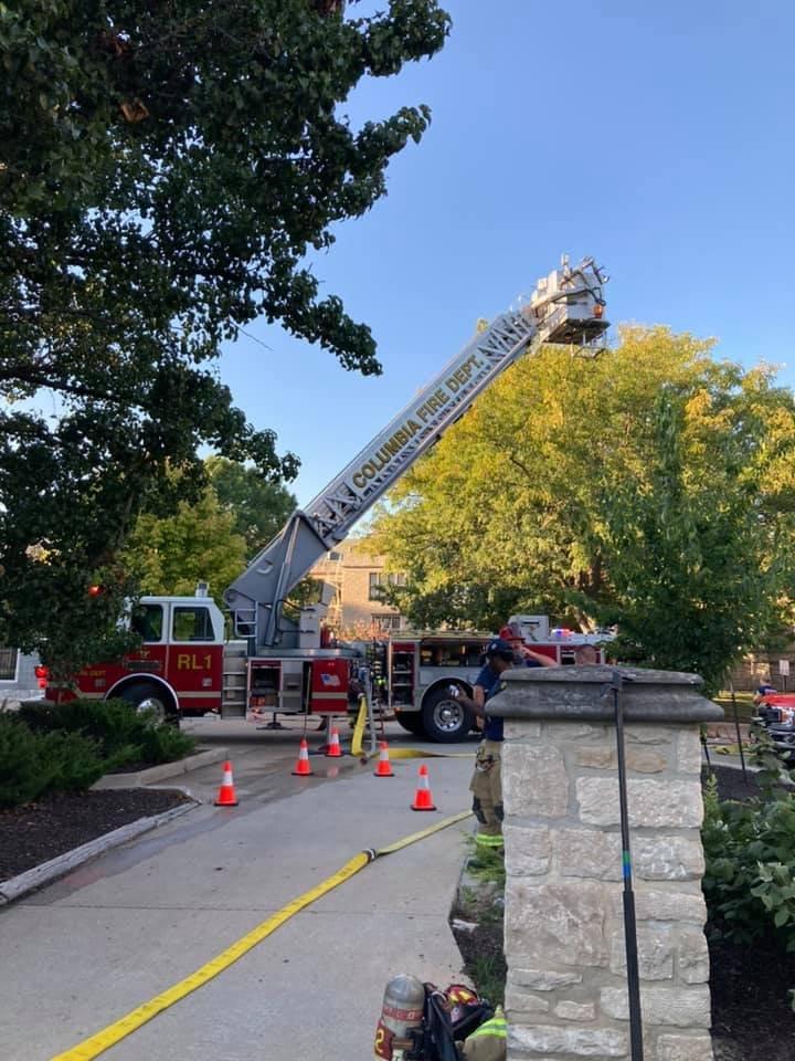 Stewart Hall Fire pic 2