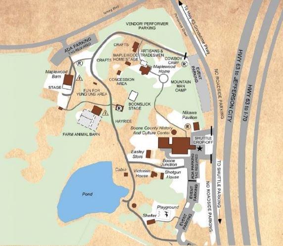 Heritage Festival 2021 Map