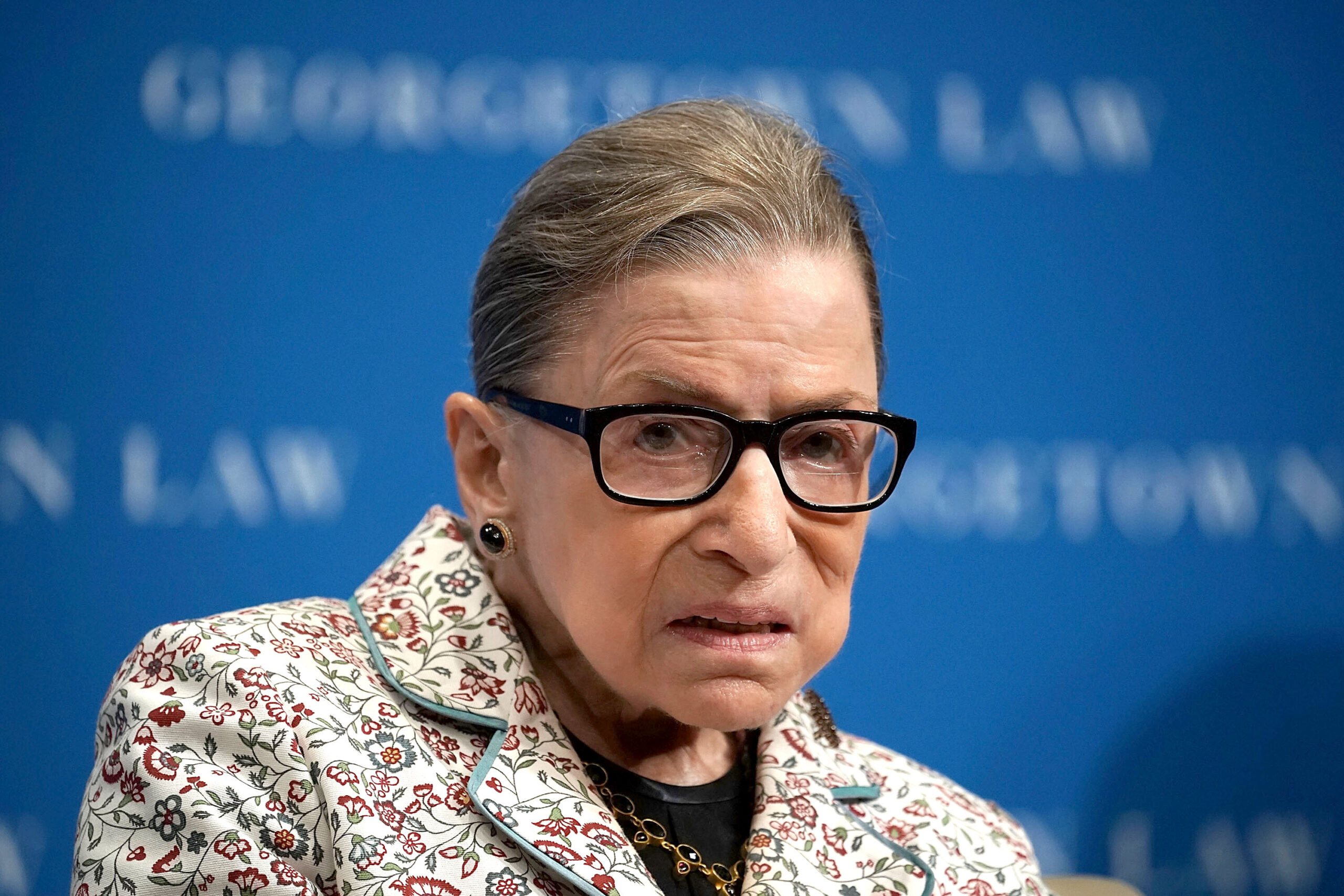 <i>Alex Wong/Getty Images</i><br/>One year after the death of Supreme Court Justice Ruth Bader Ginsburg