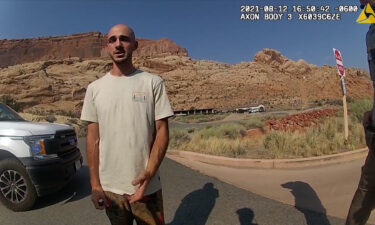 Bodycam footage from the Moab Police Department that shows them talking with Brian Laundrie is seen.