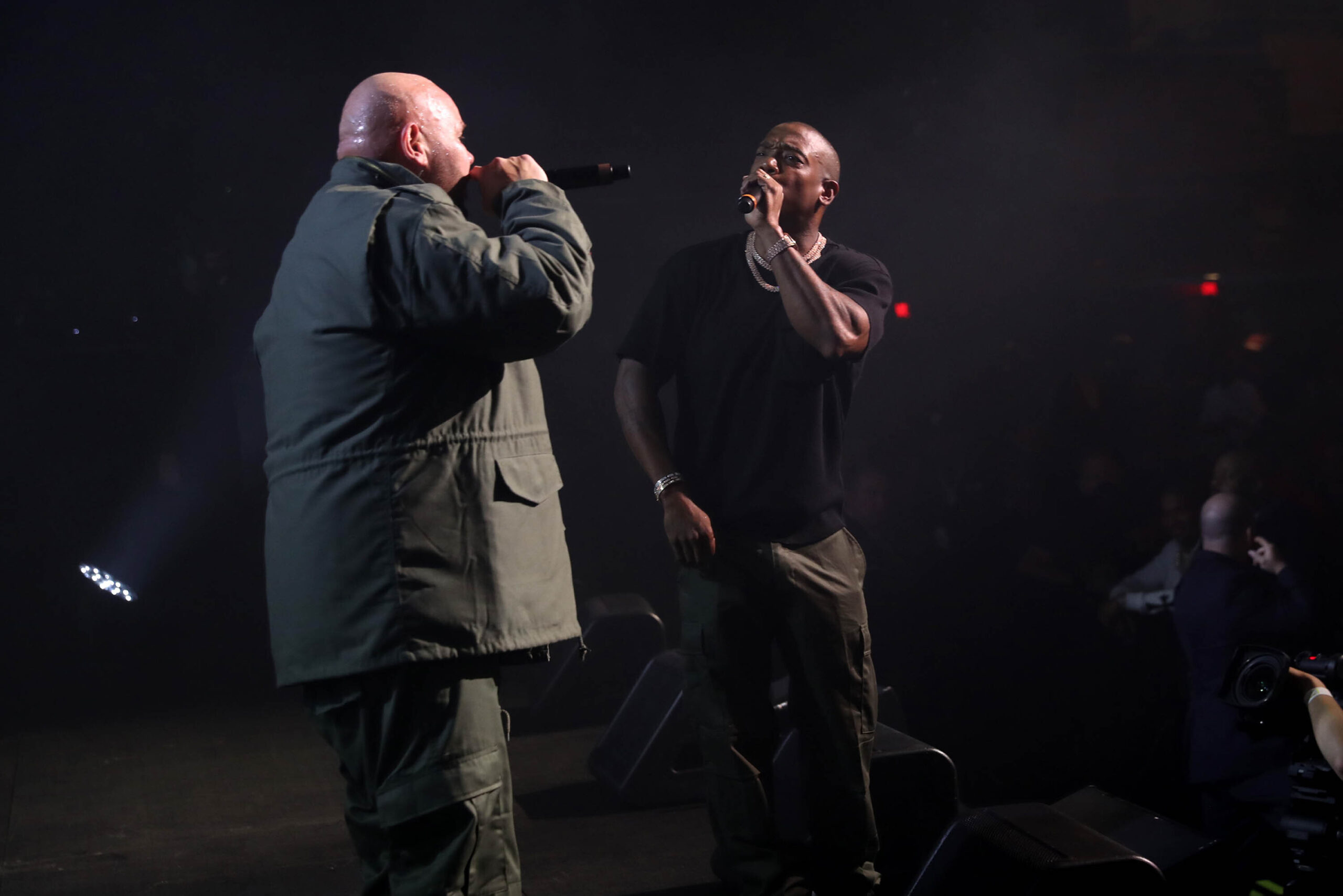<i>Johnny Nunez/WireImage/Getty Images</i><br/>Fat Joe and Ja Rule performing on Tuesday.