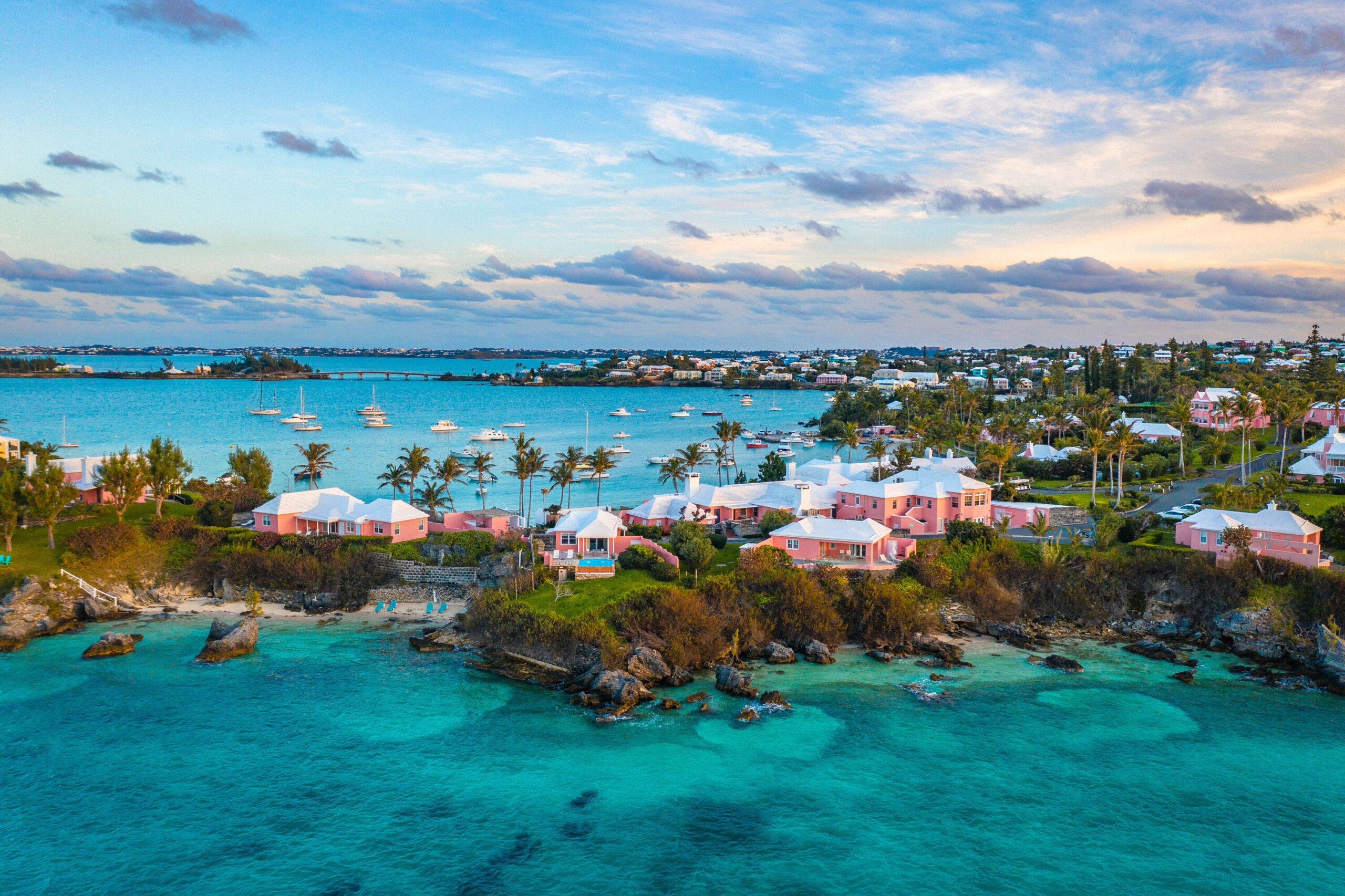 <i>Cavan Images/Getty Images</i><br/>Antigua and Barbuda in the Caribbean and Bermuda in the Atlantic were added to the