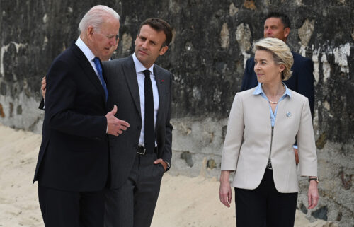 President Joe Biden is set to hold his first conversation with French President Emmanuel Macron on Sept. 22 after a major diplomatic crisis exploded between the men over a deal to provide Australia with nuclear-powered submarines.