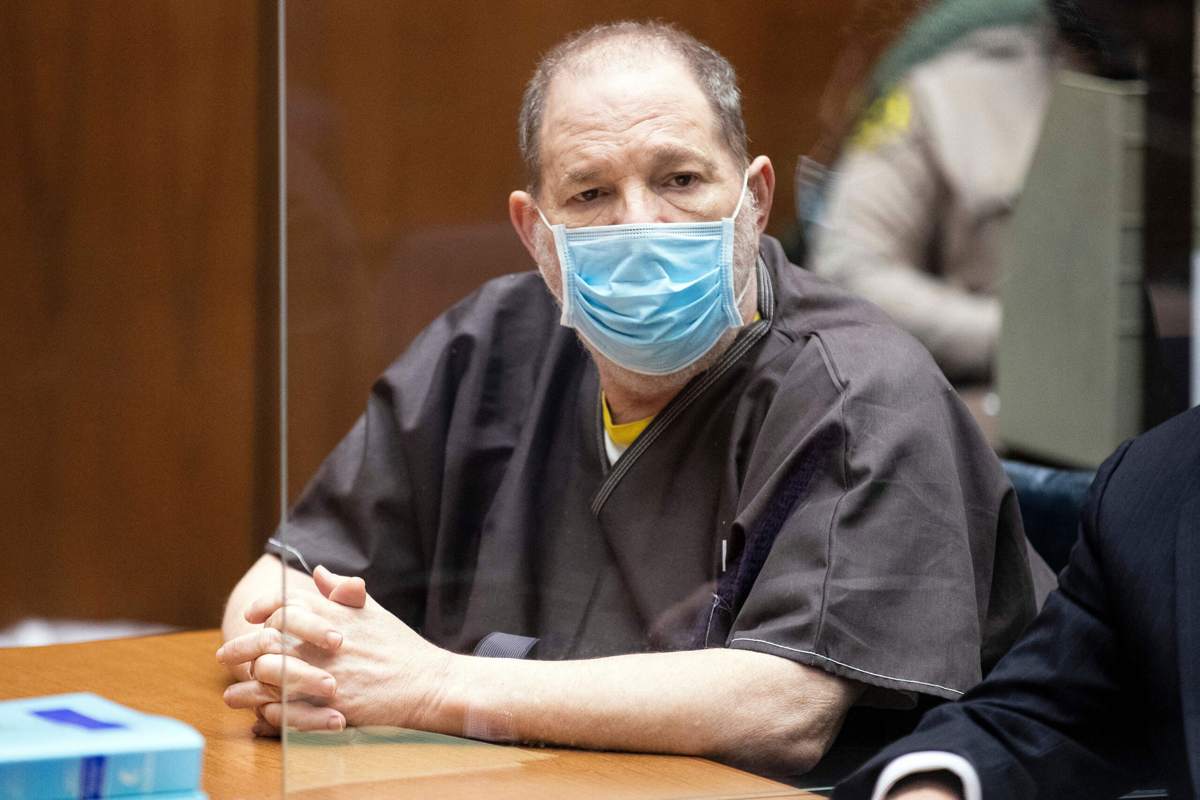 <i>Etienne Laurent/Pool/AFP/Getty Images</i><br/>Disgraced movie mogul Harvey Weinstein