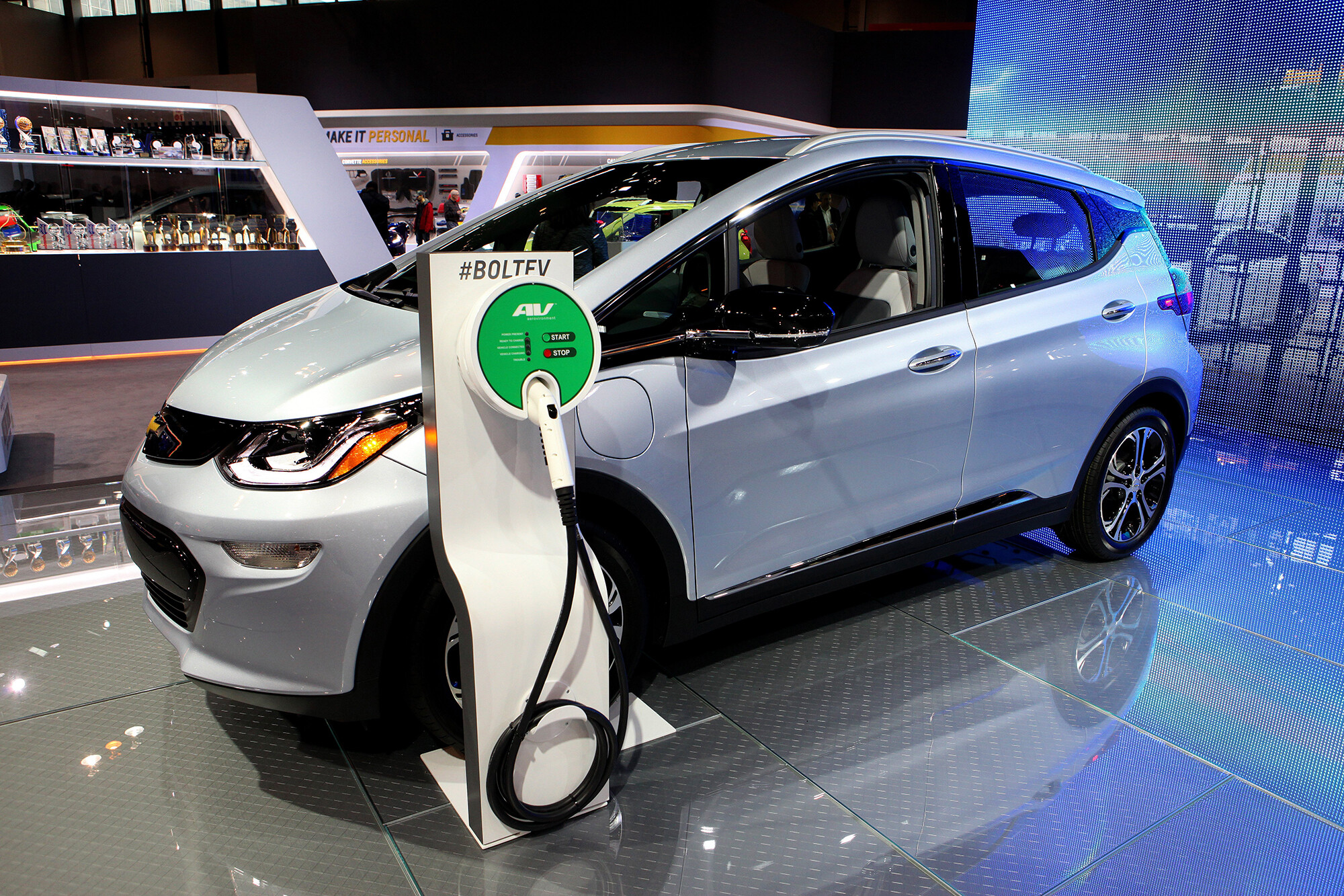 <i>Raymond Boyd/Getty Images</i><br/>General Motors announces it will begin replacing damaged and fire-prone battery cells on some of its recalled Chevrolet Bolt electric vehicles in mid-October