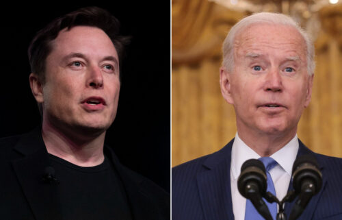 Elon Musk mocked President Joe Biden after Saturday's successful splashdown of SpaceX's Inspiration4 flight carried four tourists on a three-day orbital mission.