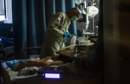The US is battling rising death tolls and strained hospital resources under the Covid-19 pandemic