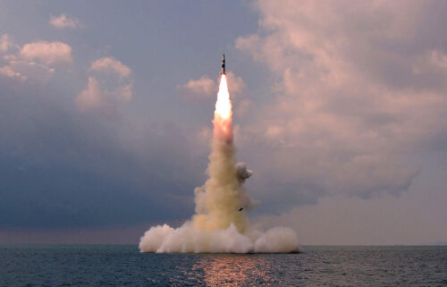 North Korea's official Korean Central News Agency (KCNA) said a new type of submarine-launched ballistic missile was test-fired from an undisclosed location on October 19.