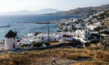 Greece is another country on the highest level of Covid-19 travel risk.