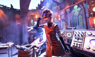 """""""The Bride of Frankenstein Lives"""" maze at Halloween Horror Nights at Universal Studios Hollywood won over fans even though its primary villain was masked."""