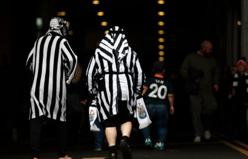 Newcastle United has issued a statement urging fans to refrain from wearing mock Arab clothing or head coverings following the Saudi Arabian-backed takeover of the club.