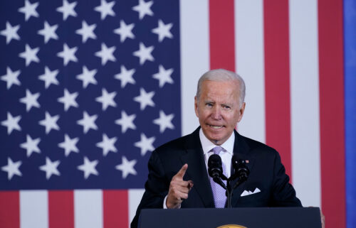 President Joe Biden made a pitch for his unfinished economic agenda as negotiations heat up in Congress