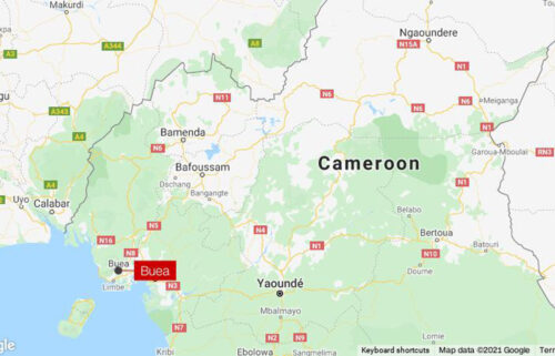 A mob lynched a military police officer after he killed a five-year-old girl when he fired on a car at a checkpoint in the capital of Buea Cameroon on October 14